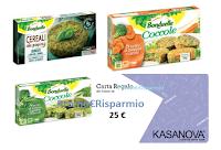 Logo Bonduelle ''Il gusto di sorprenderti''! Gratta e vinci subito 120 carte regalo Kasanova da 25€