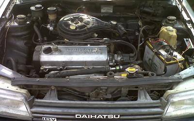 Mesin Daihatsu Charade Classy