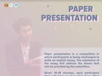 Paper Presentation Competition 2018 di Unpad (Univeritas Panjajaran)