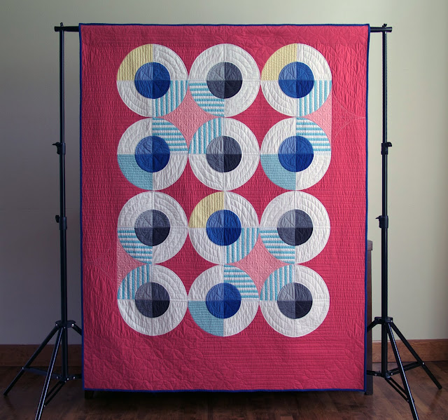 Inspiration blog post series - Clambake quilt made by Heather Black - Quilt-achusetts