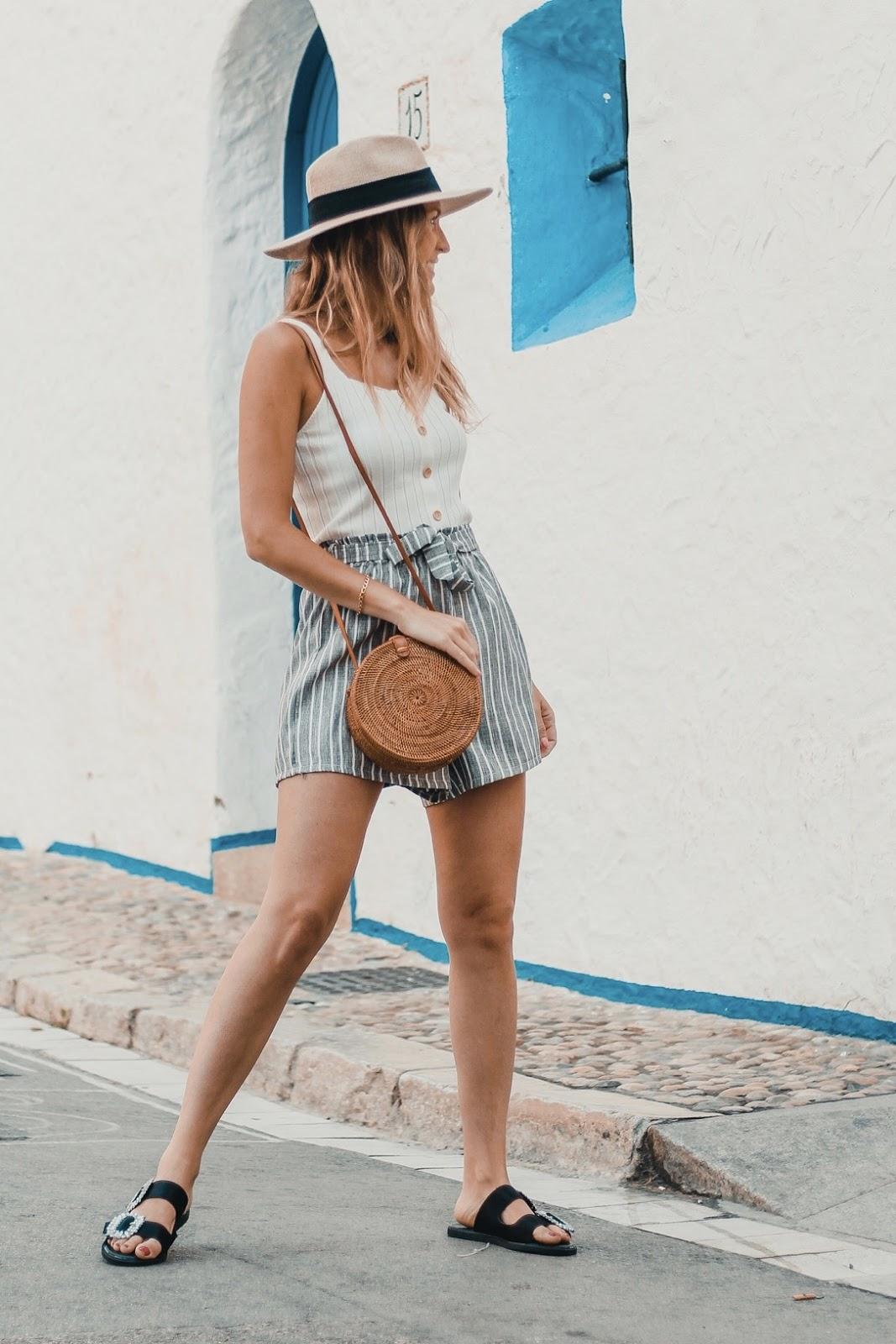como llevar shorts de lino 2018