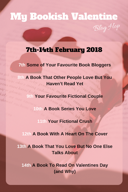 My Bookish Valentine Blog Hop Sign Up #BookishBlogHops #BookBloggers
