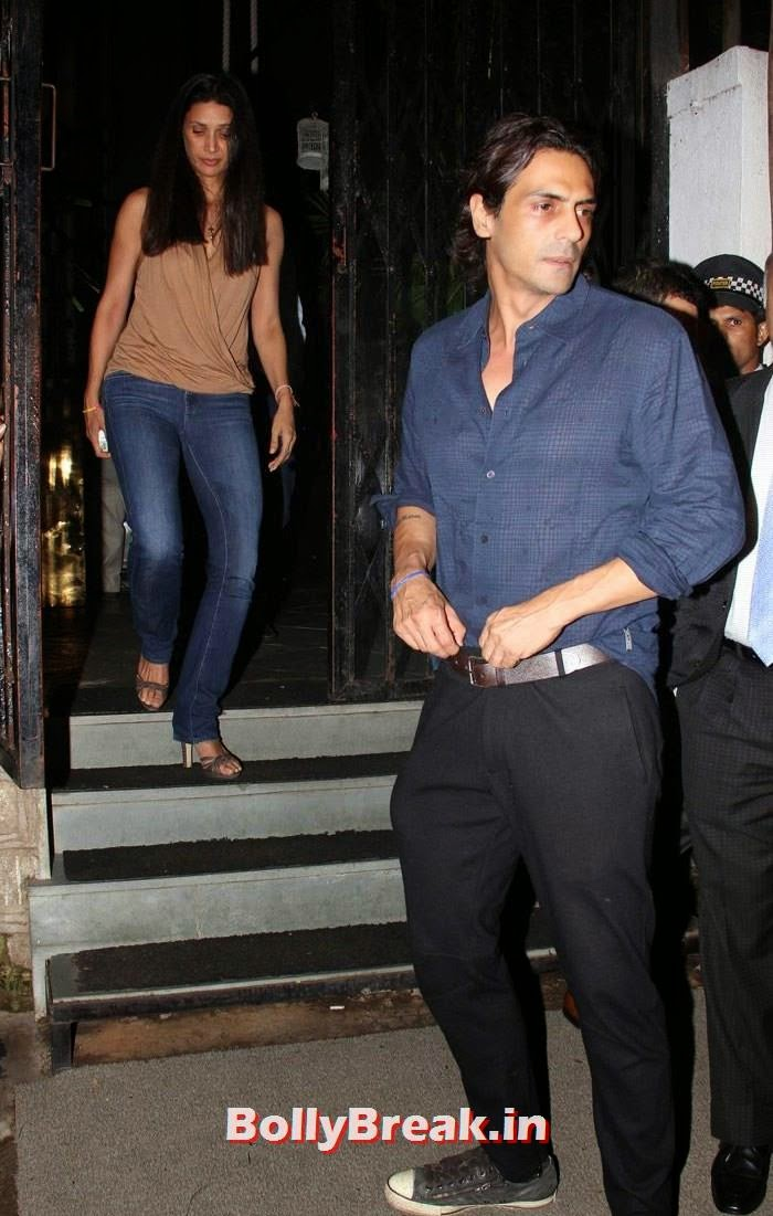 Mehr Jessia Rampal, Arjun Rampal, Kareena Kapoor, Alvira, Mehr Snapped at Nido