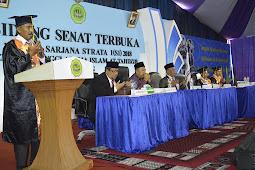 STAI Attahdzib Ngoro Jombang Wisuda 90 Sarjana Baru
