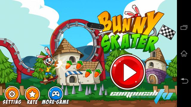 Bunny Skater Juego para Android APK