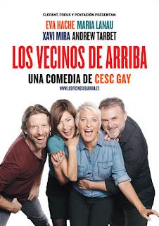 Los vecinos de arriba de Cesc Gay [Teatro Bellas Artes]