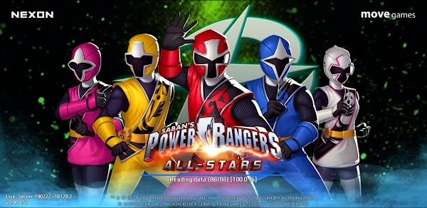 Power Rangers: All Stars 0.0.152 APK [Online]