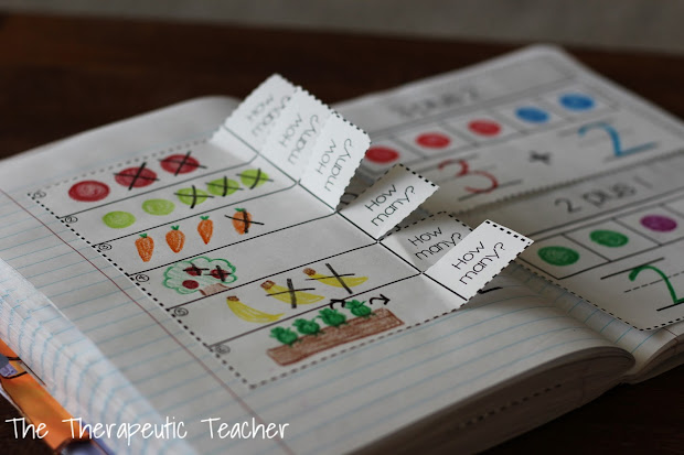 Interactive Math Journals Kindergarten