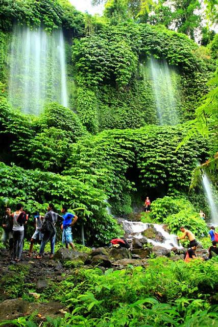 Air Terjun Benang Kelambu (Foto : caderabdul.wordpress.com)