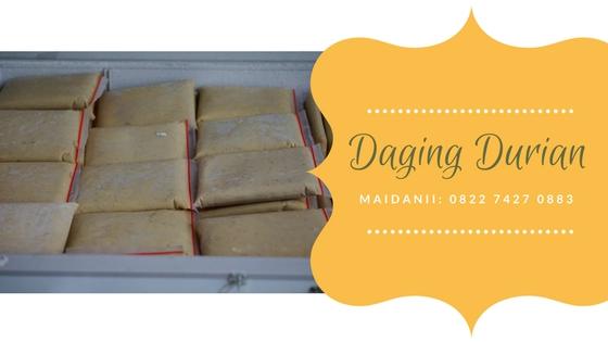 daging durian medan di rasiei