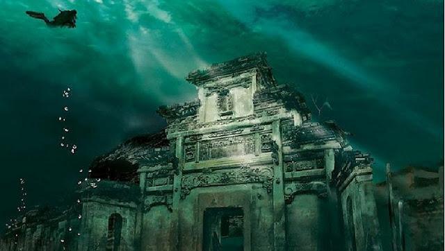 Kota-kota yang Tenggelam di Dasar Danau