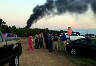 U.S. military plane used for refueling crashed into a soybean field in rural Mississippi