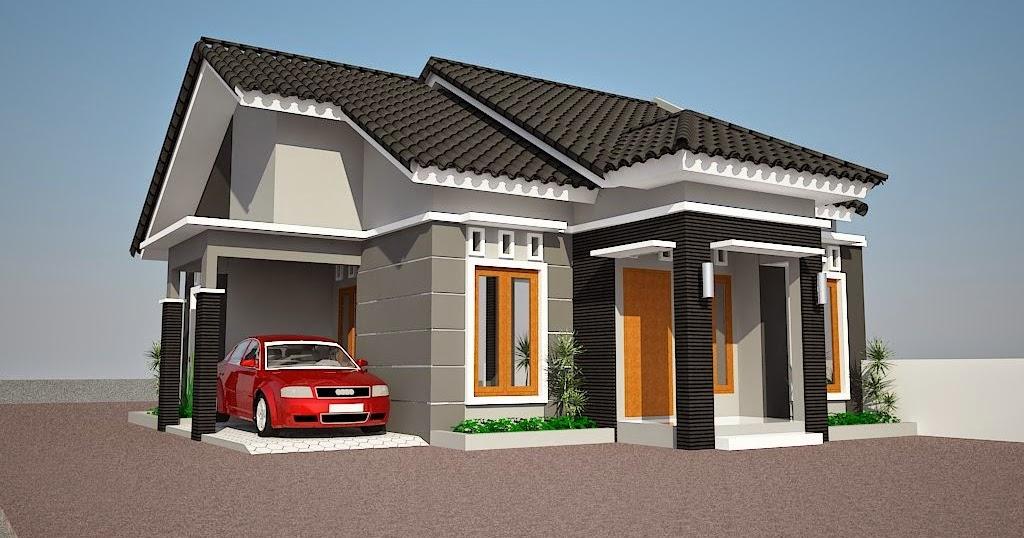 Gambar Contoh Desain Rumah Minimalis Type 36 2 Lantai