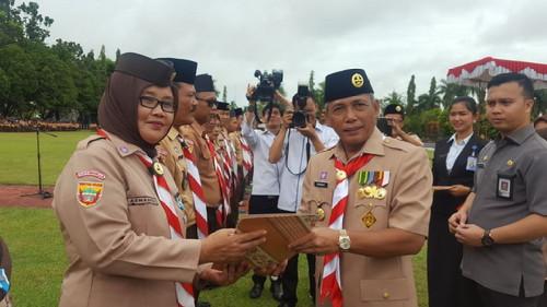 Pramuka Garda Terdepan Jaga Kesatuan Bangsa