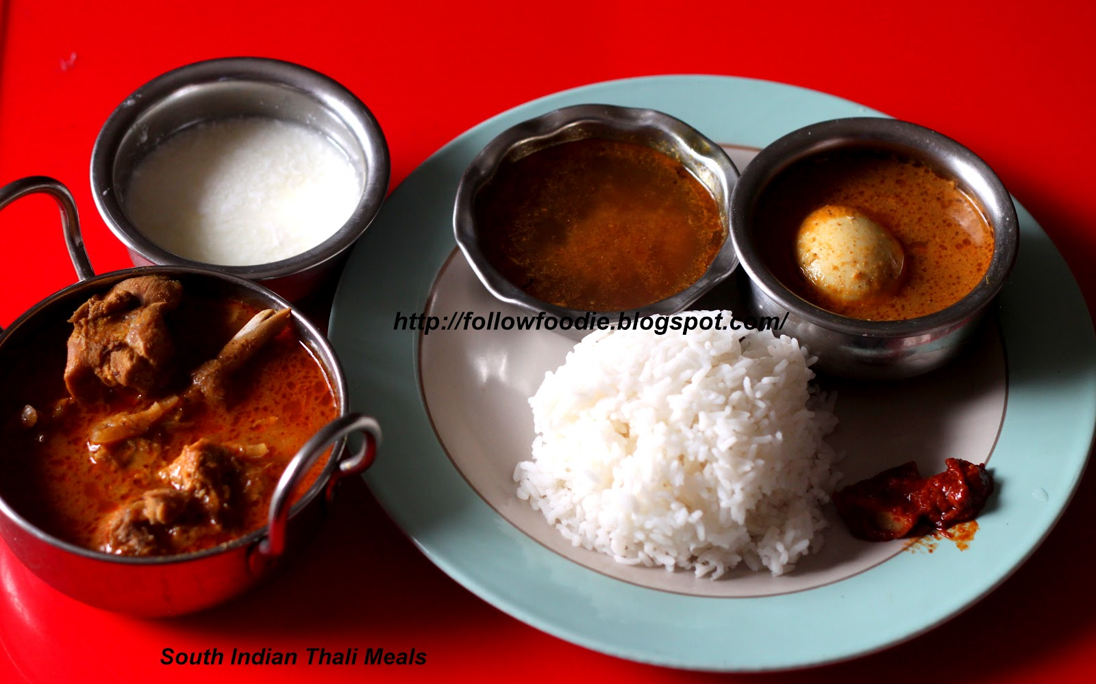 Follow foodie south indian non vegetarian thali meals party menu forumfinder Images