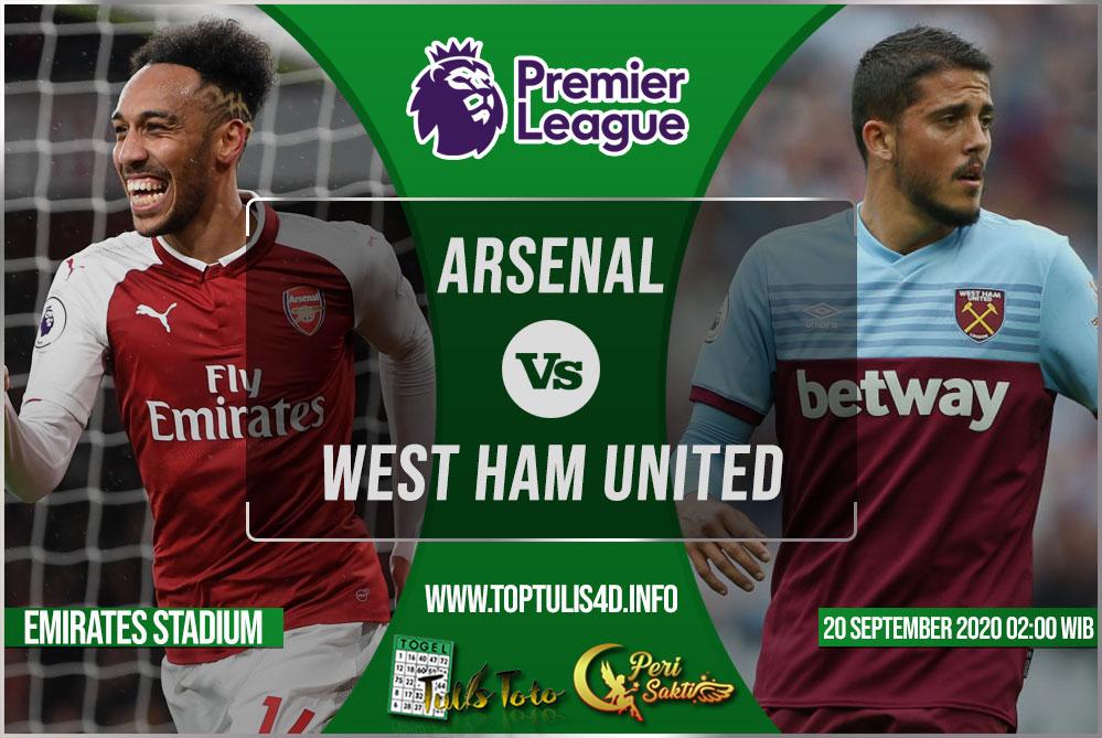 Prediksi Arsenal vs West Ham United 20 September 2020