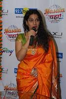 Marath Actrss Urmila Kanitkar Celetes Gudi Padwa in Orange Saree 24.JPG