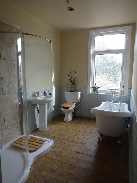 Modern Classic Victorian Bathroom