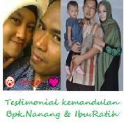 Bapak Nanang Wuryanto dan Ibu Ratih