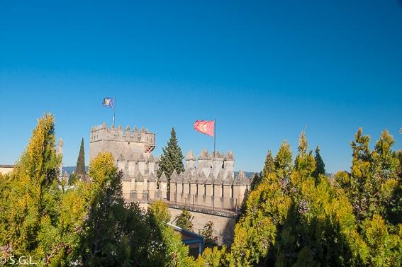 Torres del castillo de Almodovar en Cordoba