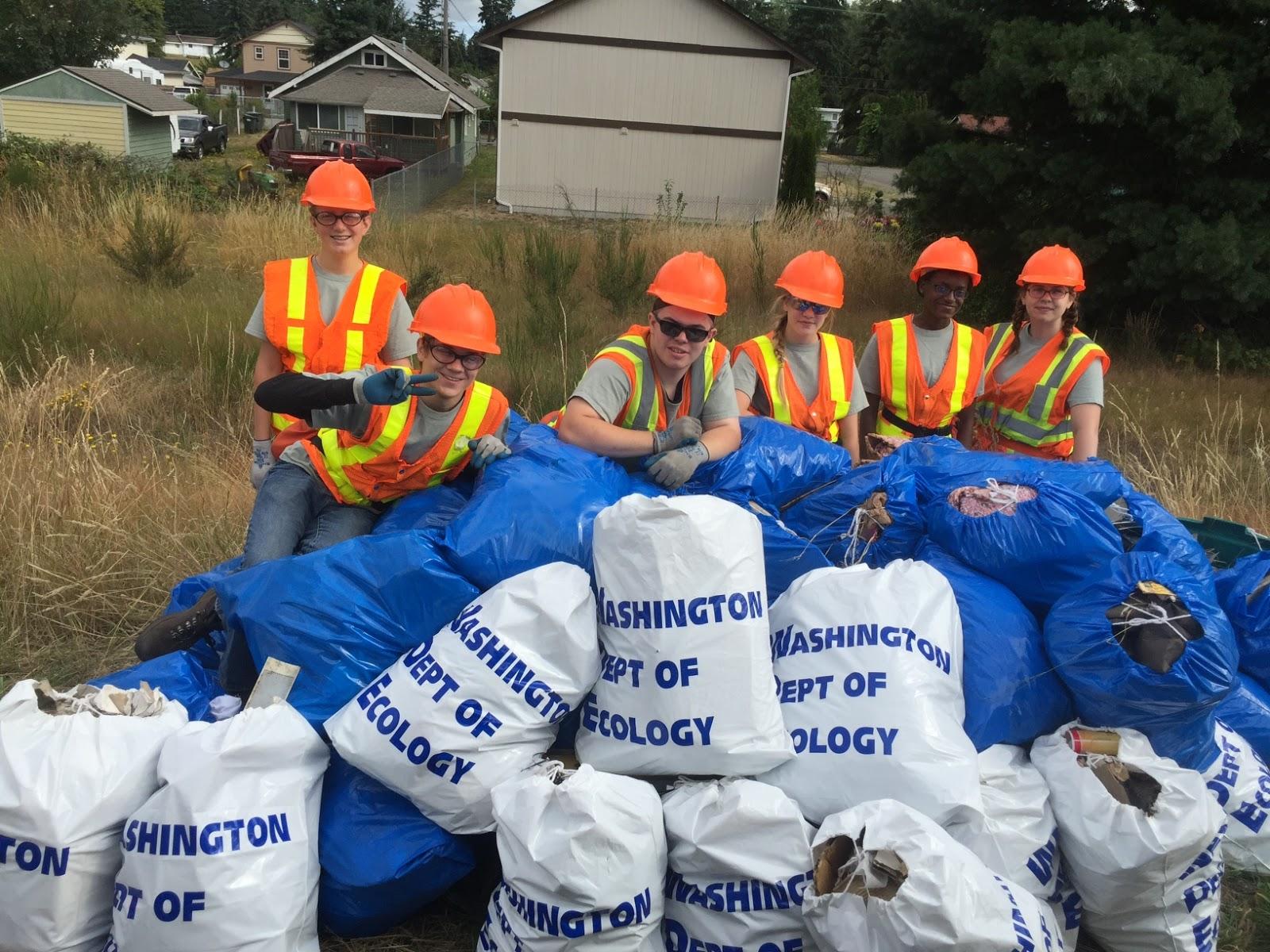 0217dd5453d Washington Department of Ecology: Washington litter czars welcome ...