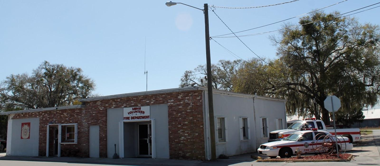 Estación de bomberos en Mims