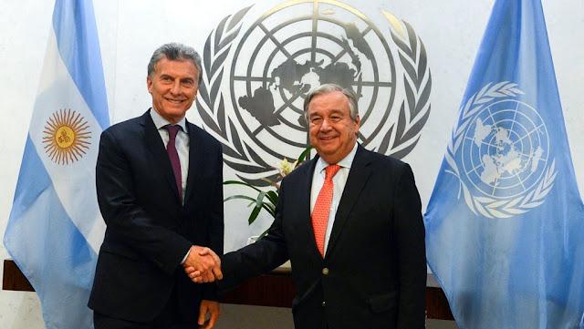Macri pidió la intervención de la ONU para garantizar la asistencia sanitaria a los venezolanos