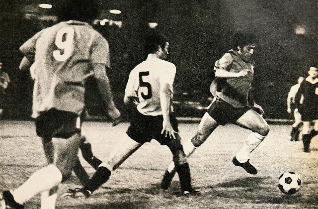 Chile y Uruguay en Copa Juan Pinto Durán 1971, partido de vuelta