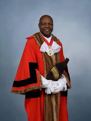 Olugbenga Babatola mayor of greenwich