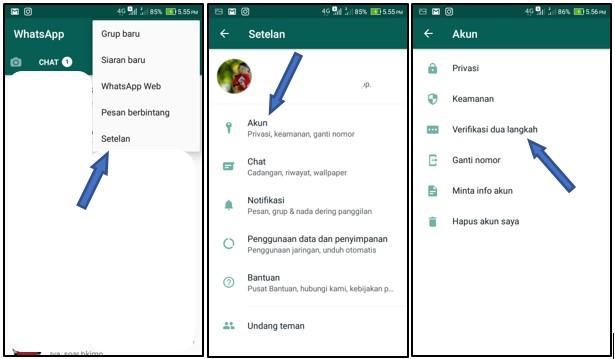 Cara Amankan akun WhatsApp