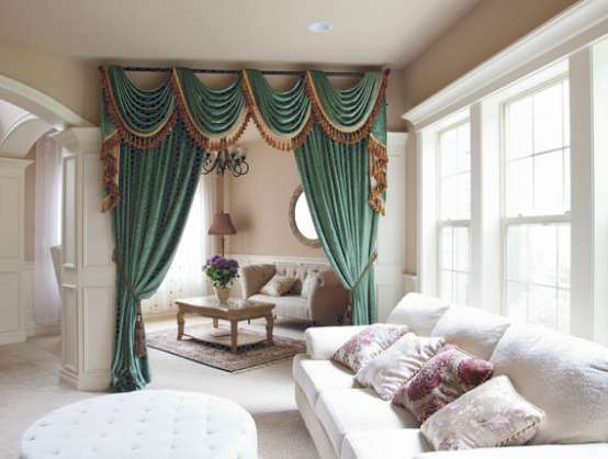 10 Ideas For Living Room Valances