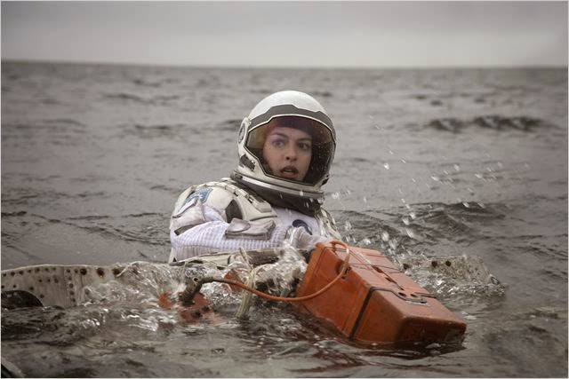 Anne Hathaway en Interstellar
