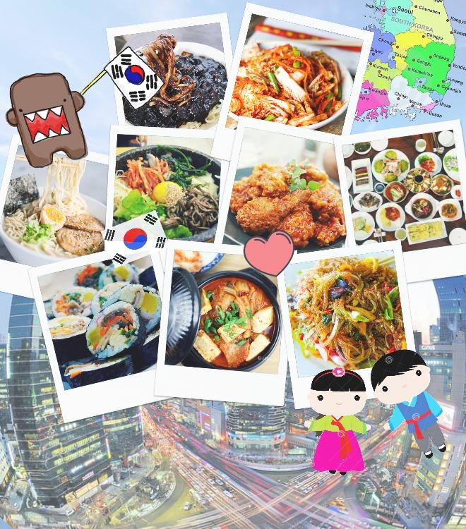 Comidas típicas da Coreia do Sul