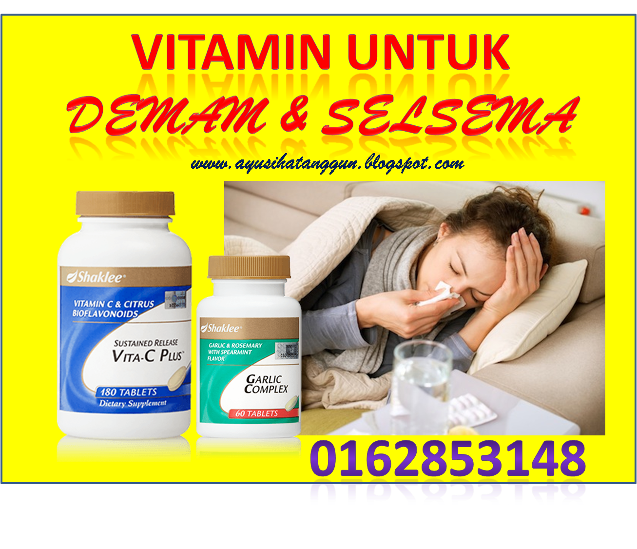 SET VITAMIN DEMAM SELSEMA