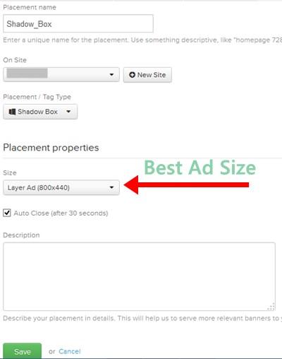 RevenueHits Ads Creating