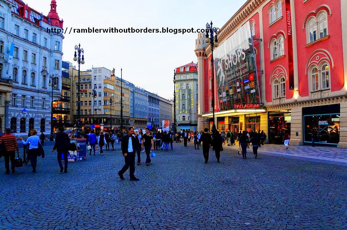 Republic Square, Prague, Czech Republic