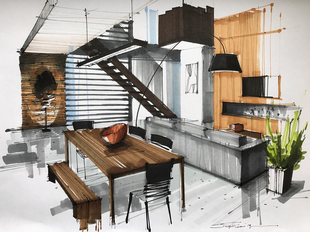 06-Kitchen-Dining-Room-Sergei-Tihomirov-Interior-Design-Color-Sketches-www-designstack-co