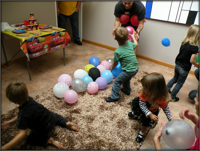 Balloon Birthday Party Game