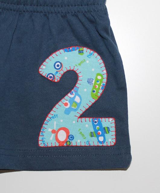 camiseta de cumpleaños 2 años moto