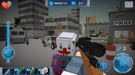 pada kesempatan ini admin akan membagikan sebuah  The walking zombie: Dead city Apk Mod 2.55 (Unlimited Money)