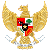 Logo Gambar Lambang Simbol Negara Indonesia PNG JPG ukuran 200 px