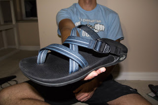 Chaco Zong sandal in blue