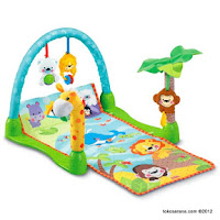 4 Fisher-Price Precious Planet™ MO-2407 Mix and Match Musical Gym