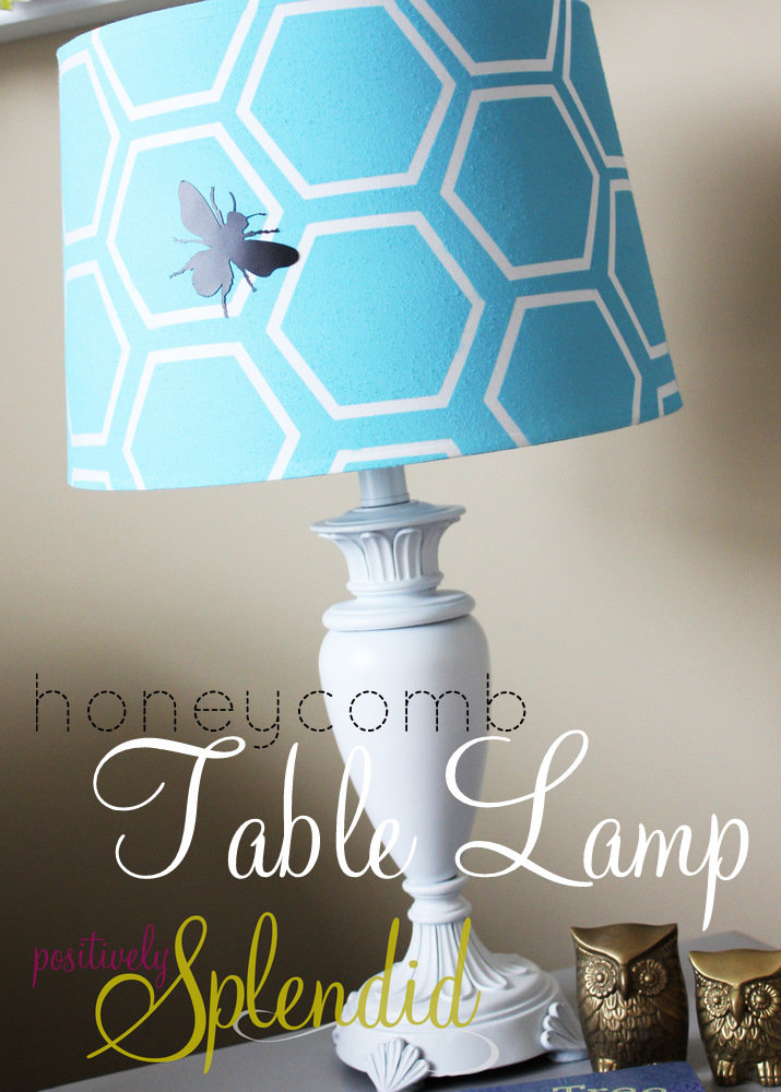 Honeycomb Table Lamp