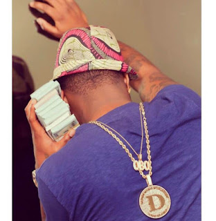 Davido Flaunts His New POLICE Number Plate (Photo)