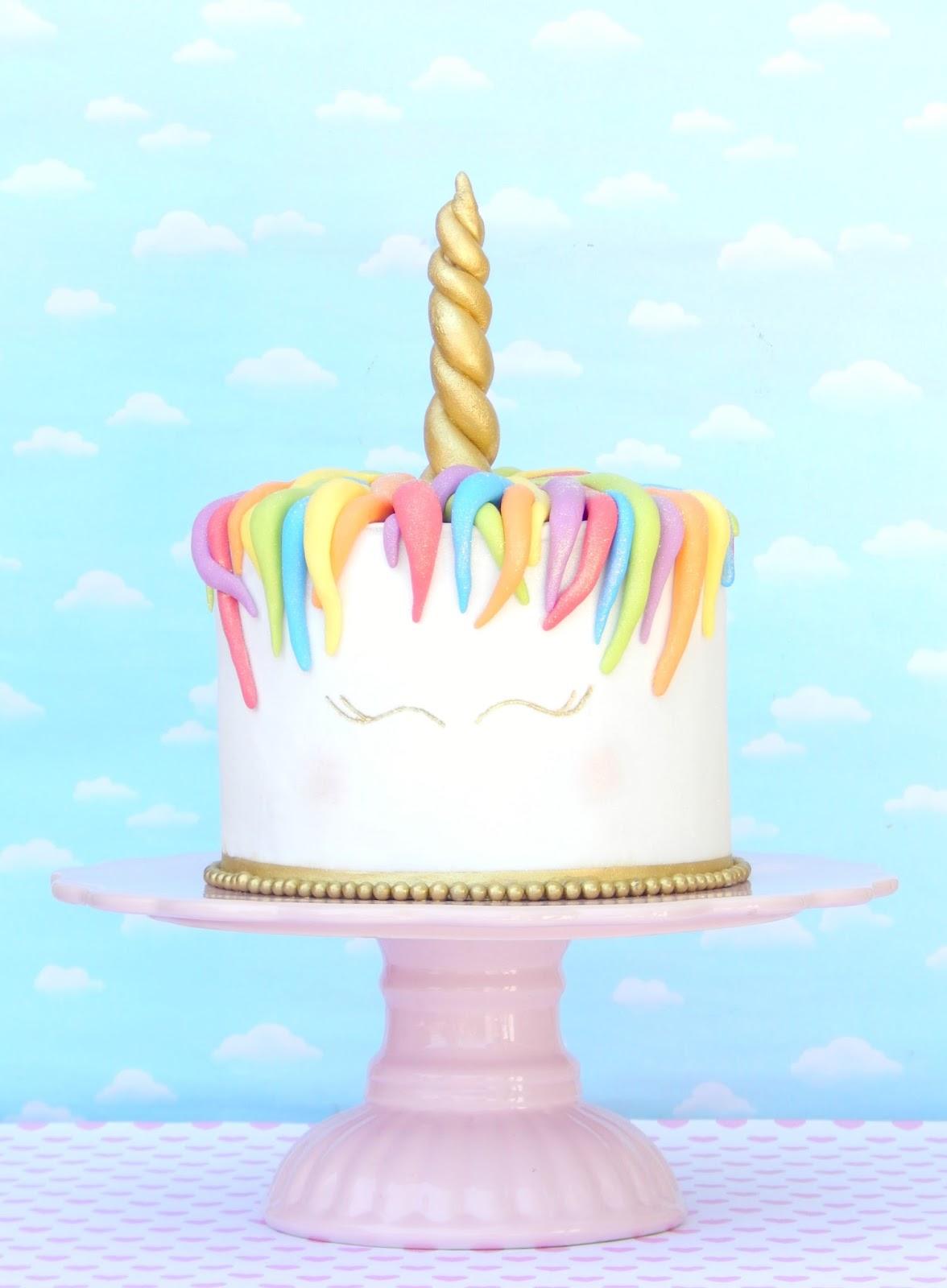 Torta unicornio: Mi cumpleaños ! / Miicakes
