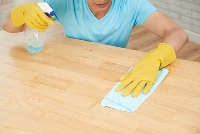Clean surfaces regularly to prevent Covid-19 infection (HealthDiseaseBlog.com)