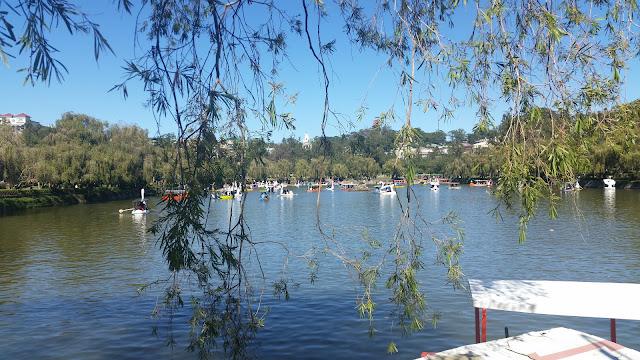 Beautiful lake at Burnham Park