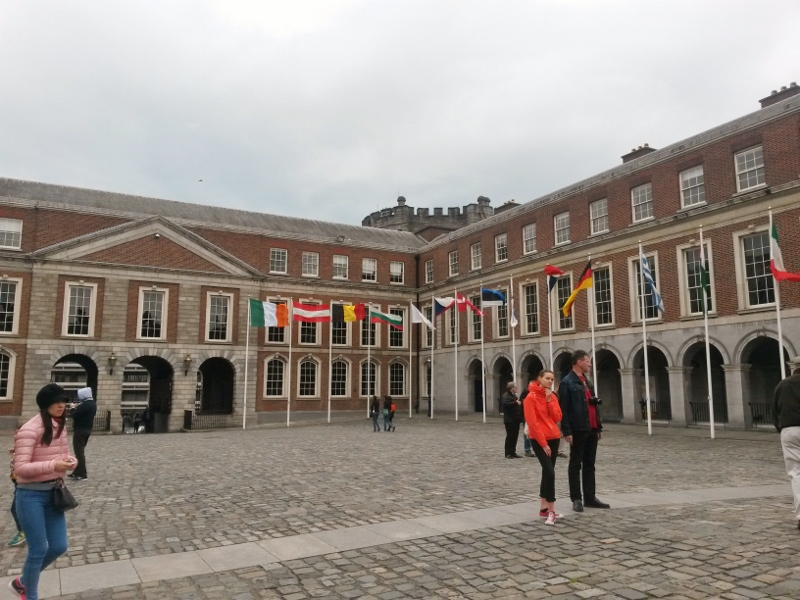 Dublin Castle, Tour of Ireland Photo Diary