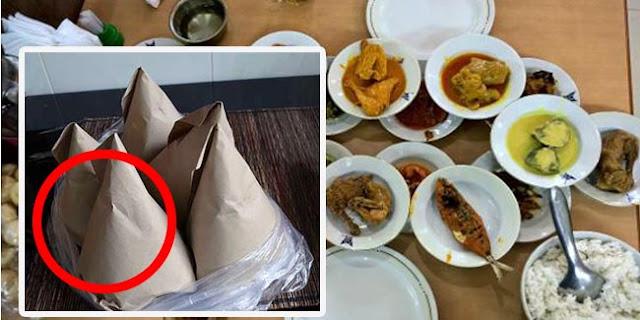 Ternyata ini Jawabannya Ketika Membeli Masakan Padang pas Dibungkus Selalu Nasinya Lebih Banyak